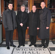image of Trans Atlantic Horn Quartet at Wigmore Hall London