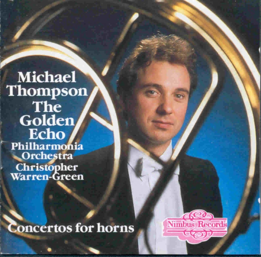 Michael Thompson Golden Echo CD cover